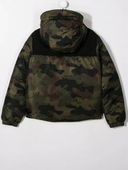 Moncler Kids - TEEN padded camouflage jacket 0585C609895569685000