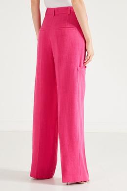 Розовые брюки с карманами Jacquemus 2985147856