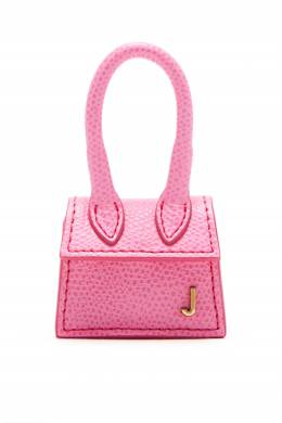 Розовая кожаная сумка Jacquemus 2985147860