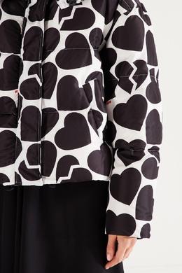 Куртка с принтом сердец MSGM 296147681