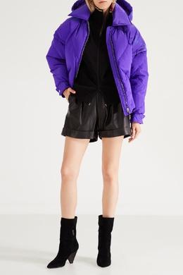 Фиолетовая стеганая куртка MSGM 296147678