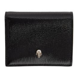 Alexander McQueen SSENSE Exclusive Black Skull Folded Wallet 192259F04001301GB