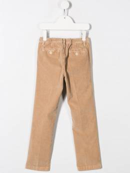 Il Gufo - ruched waistband corduroy trousers PL933TV6665953335830