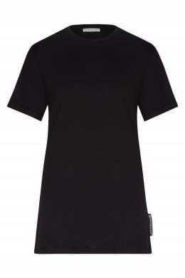 Черная футболка Moncler 34147935