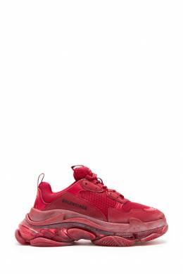 Красные кроссовки Triple S Balenciaga 397147843