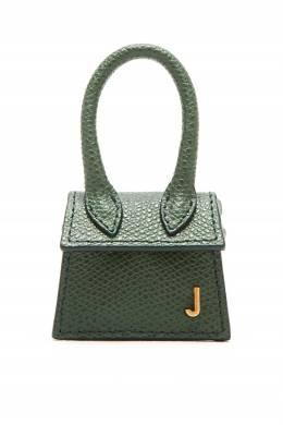 Зеленая кожаная сумка Jacquemus 2985147861