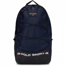 Polo Ralph Lauren Navy Nylon Polo Sport Backpack 192213M16600101GB
