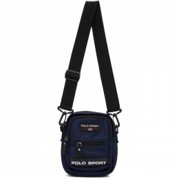 Polo Ralph Lauren Navy Polo Sport Crossbody Bag 192213M17000101GB