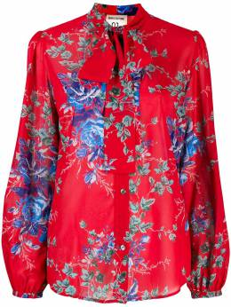 Semicouture - floral print shirt S3695368355000000000