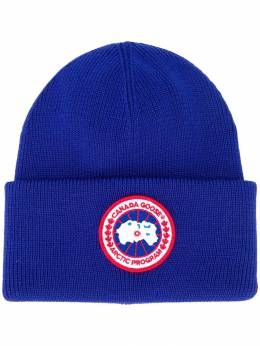 Canada Goose - logo patch beanie hat 6L955998990000000000