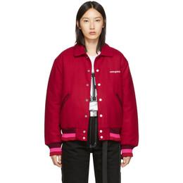 Noon Goons Red Old English Varsity Jacket 192764F05800102GB