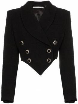 Alessandra Rich - cropped double breasted blazer 98569563556900000000