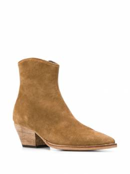 Officine Creative - suede ankle boots ELLE6669556988600000