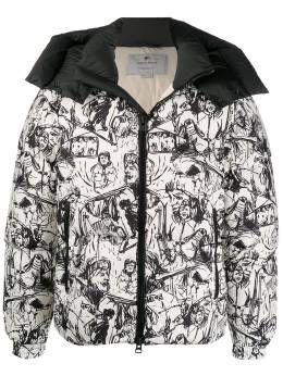 Woolrich - sketch print jacket PS0969UT930595599656