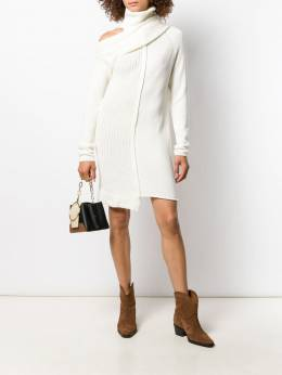Patrizia Pepe - knitted cold-shoulder dress 968A5O99559566500000