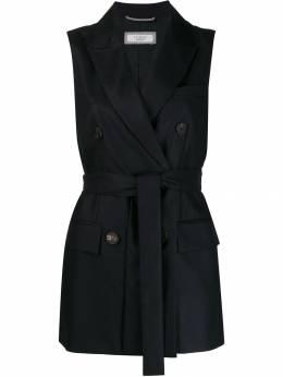 Peserico двубортный пиджак без рукавов S03707A