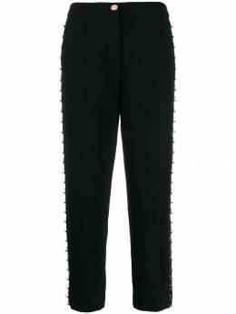 Just Cavalli - укороченные брюки с кольцами KA6059N3933095936066