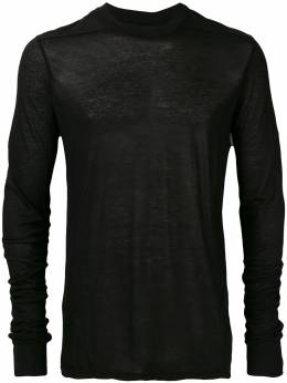 Rick Owens DRKSHDW long-sleeve fitted sweater DU18F7268B