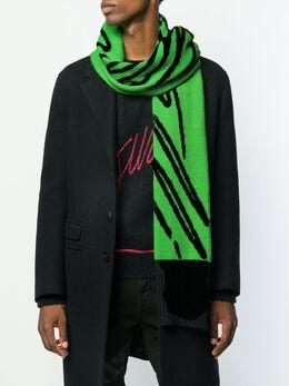 Just Cavalli - шарф с логотипом оверсайз TE6609N9588695936099