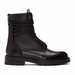 Amiri Black Combat Boots 192886M25500209GB