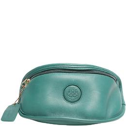Coach Green Leather Atlanta Olympics Belt Bag 219399