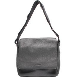 Coach Black Leather Messenger Bag 219356