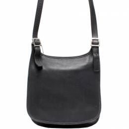 Coach Black Leather Hobo Bag 219354
