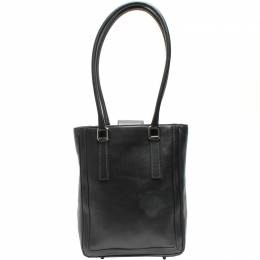 Coach Black Leather Bucket Tote Bag 219358