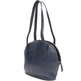 Coach Black Leather Satchel Bag 219401
