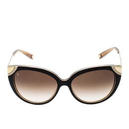 Louis Vuitton Brown/Brown Gradient Z0620E Amber Cat Eye Sunglasses 220759