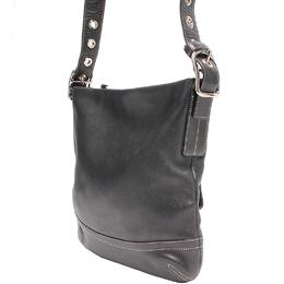 Coach Black Leather Crossbody Bag 219369