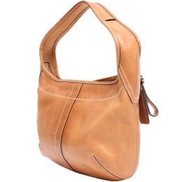 Coach Beige Leather Hobo Bag 219362
