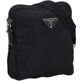 Prada Black Nylon Belt Bag 209034