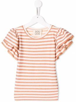 Douuod Kids - футболка в полоску с оборками 90088956590950000000