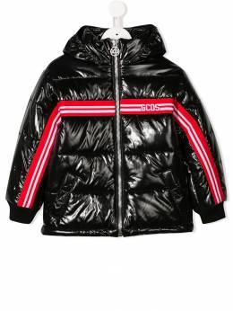 Gcds Kids - logo padded coat 50395530600000000000