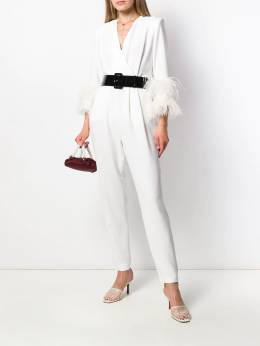 P.A.R.O.S.H. - belted waist jumpsuit ATYXD396969P95563550