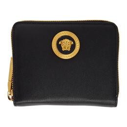 Versace Black Medusa Zip Wallet 192404F04001001GB