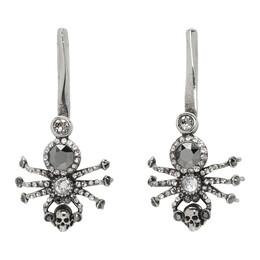 Alexander McQueen Silver Spider Earrings 192259F02201101GB