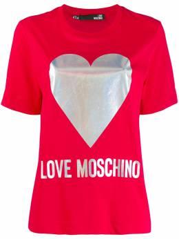 Love Moschino - футболка с логотипом 959UM359395383956000