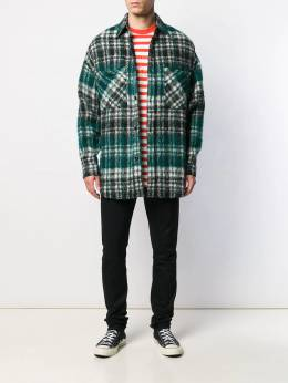 Faith Connexion - check oversized shirt 99T6EX63955063880000