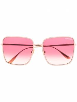 Tom Ford Eyewear - Heather gradient lenses square sunglasses 39953595950000000000