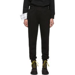 Vetements Black New Classic Lounge Pants 192669M21303004GB