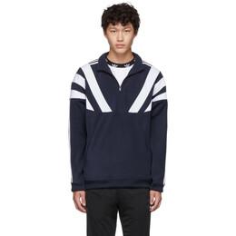 Adidas Originals Navy 96 QZ Zip-Up Sweater 192751M18001102GB