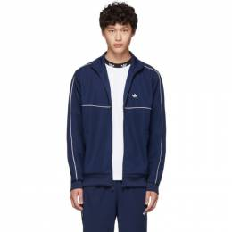 Adidas Originals Navy Samstag Track Jacket 192751M20204205GB