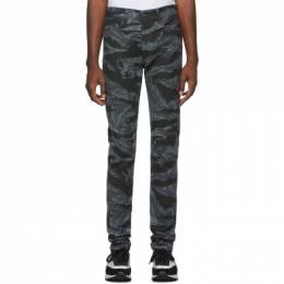 Diesel Black and Grey D-Amny-SP1 Jeans 192001M18601601GB