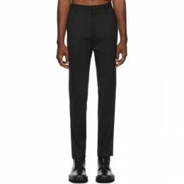 Dsquared2 Black Tidy Fit Trousers 192148M19100606GB