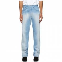 Random Identities Blue Classic 5 Pocket Jeans 192172M18601501GB