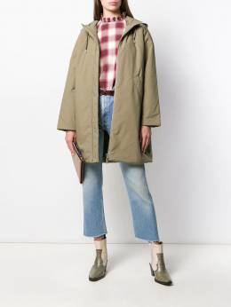 A.P.C. - hooded coat BWF36909953609950000