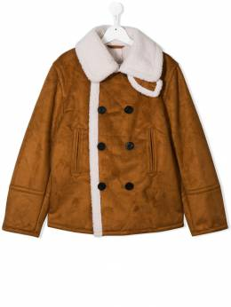 Dsquared2 Kids - TEEN double-breasted coat 3NWD66V3955693650000