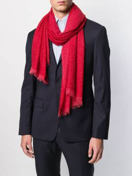 Faliero Sarti - шарф с бахромой 60896955595308536000
